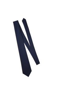 Галстук-самовяз форменный синий