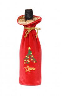 Мешочек новогодний с вышивкой