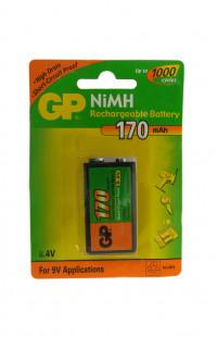 Аккумулятор  GP 6F 22 17R 8H- BC1