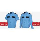Новые модели форменных рубашек для сотрудников охраны!