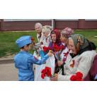 """Компания """"ОКРУГ"""" приняла участие в митинге в деревне Ченцы, посвященном Дню Победы"""
