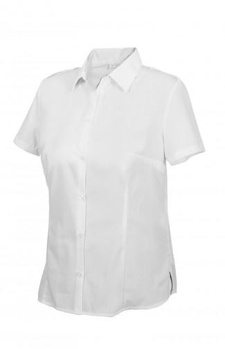 Блузка женскаяс короткимрукавом белая