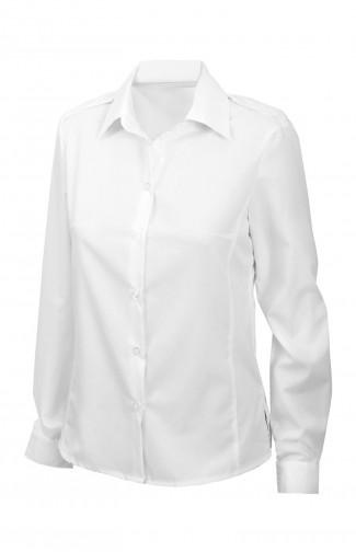 Блузка женскаяс длиннымрукавом белая