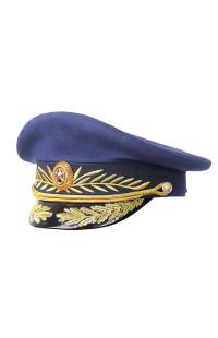 Фуражка генерала повседневная рип-стоп синий