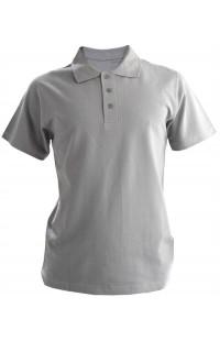 Рубашка поло хлопок серый