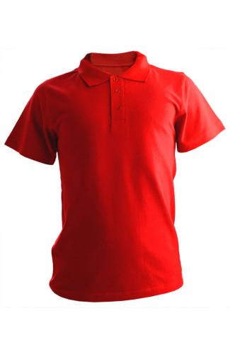 Рубашка поло хлопок красный
