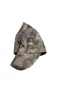 Кепи с отложными ушками мембрана Локкер камуфляж зеленый