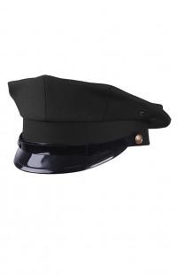 Фуражка для охраны восьмиугольная п/ш черный