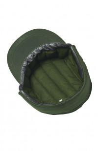 Кепи охранника утепленное смесовая зеленый