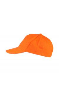 Бейсболка классик х/б оранжевый