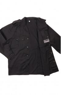 Куртка для охраны смесовая черный