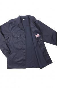Куртка для охраны смесовая синий