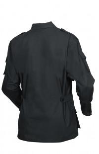 Куртка полевая смесовая рип-стоп черный