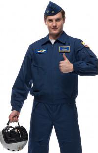 Костюм полетный рип-стоп синий