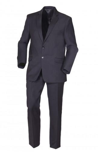 Костюм офисный мужской п/э тёмно-серый