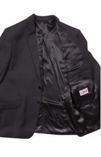 Пиджак офисный мужской п/э тёмно-серый