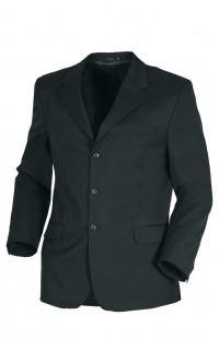 Пиджак классический офисный мужской п/ш черный