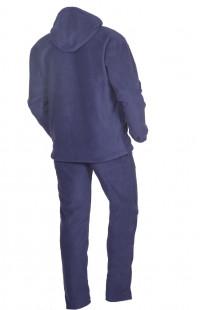 Костюм мужской флис синий