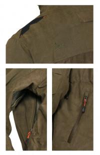 Куртка Тувалык демисезонная иск.замша хаки