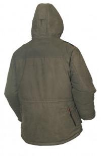 Куртка для охоты зимняя иск.замша хаки