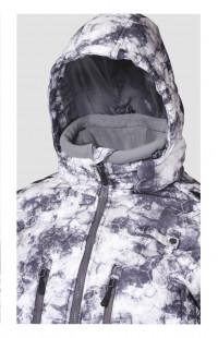 Куртка мужская зимняя алова белый камуфляж