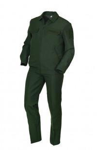 Костюм форменный п/ш зеленый
