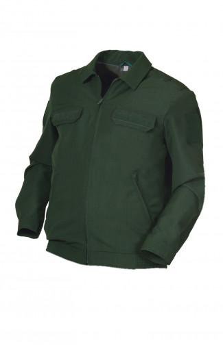 Куртка форменная п/ш зеленый