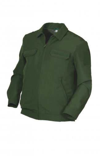 Куртка форменная рип-стоп зеленый