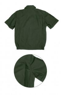 Костюм форменныйс коротким рукавом рип-стоп зеленый