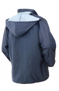Куртка-дождевик п/а синий