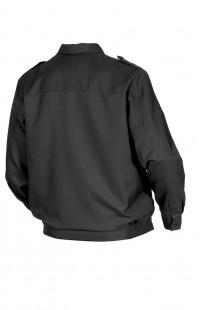 Куртка для охраны смесовая черный глянцевый