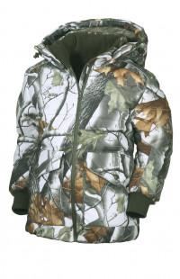 Куртка детская зимняя алова зимний лес