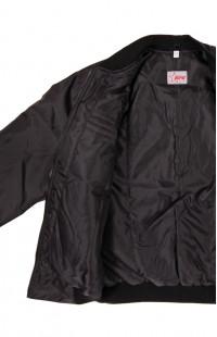 Куртка утепленная укороченная п/а черный