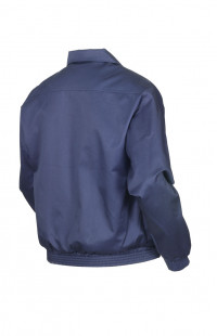 Куртка-ветровка полетная смесовая синий