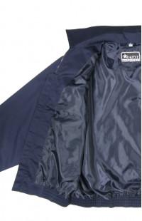 Куртка-ветровка полетная твил смесовый синий