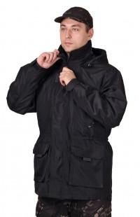 Куртка ГОРОД демисезонная дюспо-бондинг черный