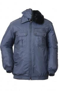 Куртка зимняя п/а синий распродажа