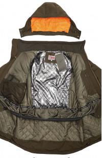 Куртка для охоты зимняя карелия хаки