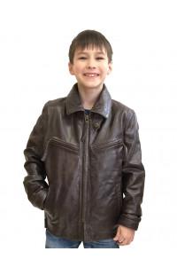 Куртка Ретро детская кожаная