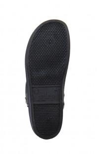 Туфли мужские Сабо нат.кожа черные
