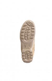 Кроссовки мужские велюр песочный