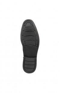 Туфли мужские летние нат.кожа черные
