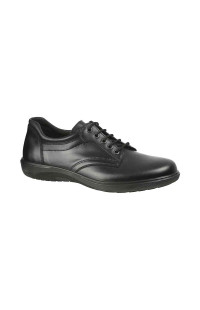 Ботинки м.6389 нат.кожа черный