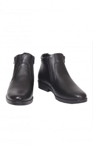 Ботинки классические м.6026 нат.кожа черный
