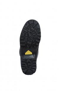 Ботинки летние черные кожа