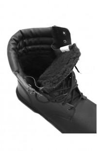 Ботинки ОМОН нат.кожа черный