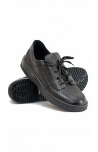 Туфли женские нат.кожа черные