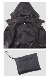 Плащ-палатка п/а черный