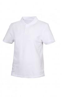 Рубашка поло хлопок белый