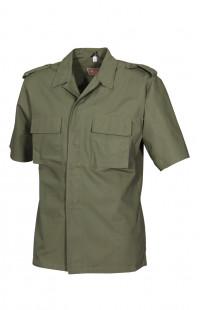 Рубашка полевая с коротким рукавом рип-стоп смесовая хаки